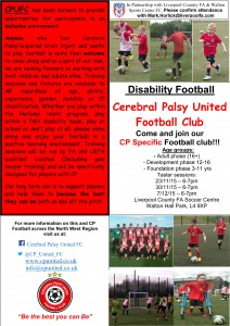 CP United FC and LCFA - New Liverpool Football Sessions